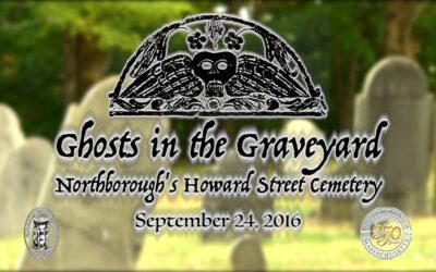 Ghost Tour (of the cemetery behind our church)
