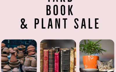 Yard, Book and Plant Sale Continued